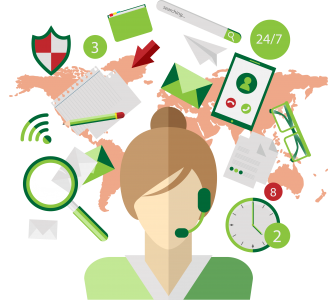 your virtual assistant converts callers